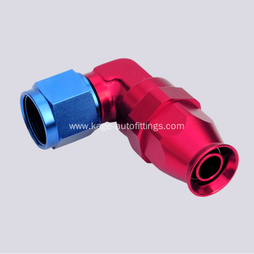 90 angle Forged Swivel Ptfe Hose adapters